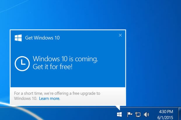 Force Upgrade To Windows 10