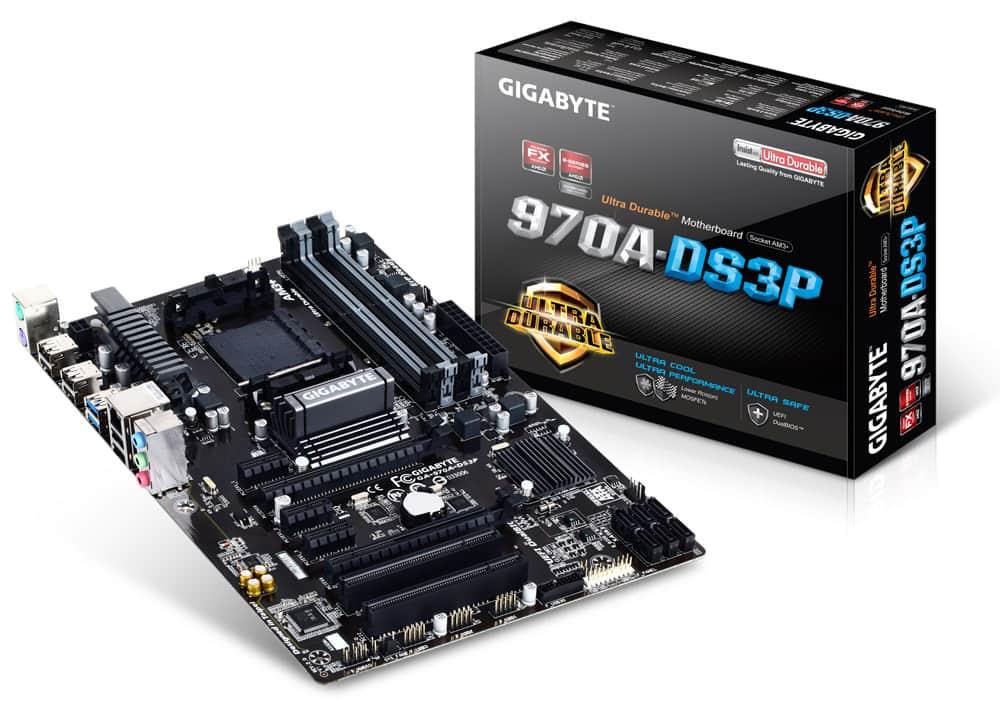 GA-970A-DS3P AMD 970