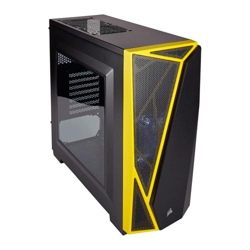 Corsair Yellow Carbide SPEC 04 PC Gaming Case