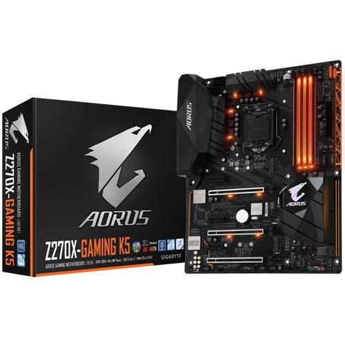 Gigabyte Aorus Z270X Gaming K5 – Intel KabyLake