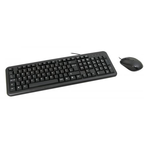 Wired Black USB Keyboard & Mouse €+12
