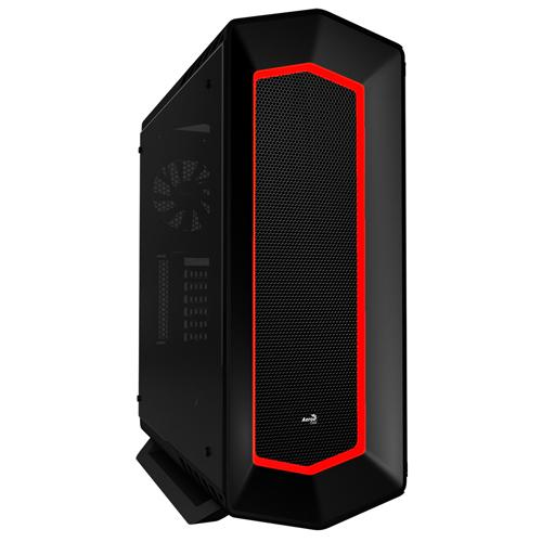 Aerocool P7C1 Black 8 Colour LED Mid
