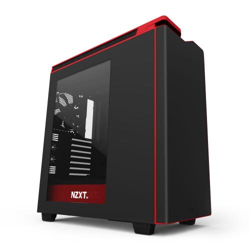NZXT H440 New  Black & Red €+82