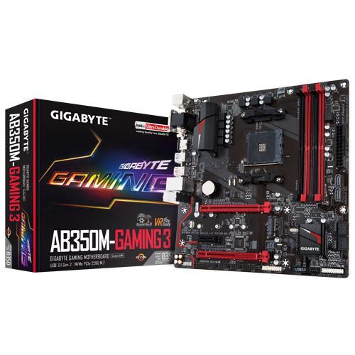 GIGABYTE AB350M Gaming 3 – AMD RYZEN MATX