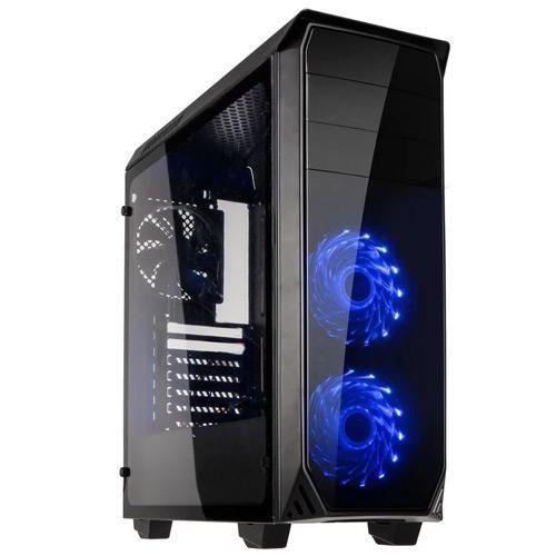 Kolink Luminosity RGB Midi Tower Black Case