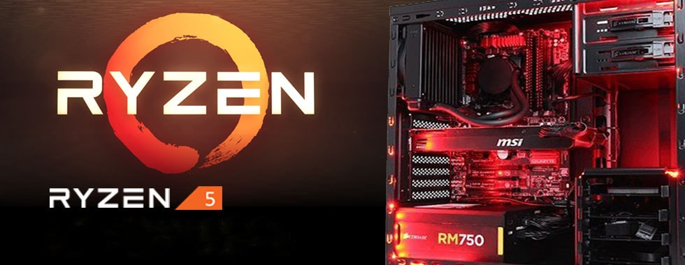 AMD Ryzen Gaming Pc Banner