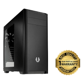 Bitfenix Nova Windowed Midi Tower Case – Black