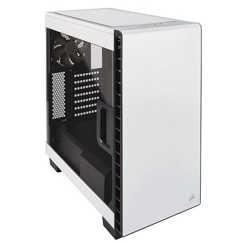 Corsair White 400C Carbide Clear Windowed