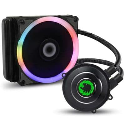 Game Max Iceberg 120mm AIO Liquid Cooler w/ 7 Colour
