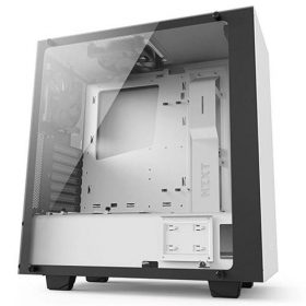 NZXT S340 Elite Gaming Case – White