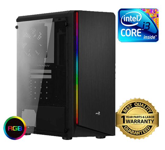 AeroCool Rift Mid-Tower RGB Gaming Case