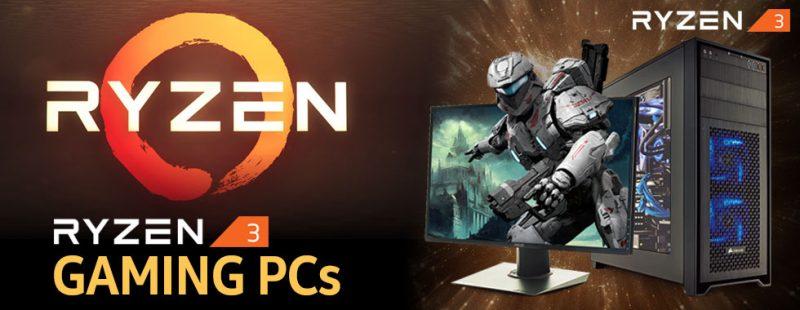 AMD Ryzen 3 Gaming PC