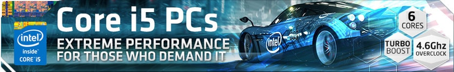 Intel i5 Gaming Pc Banner