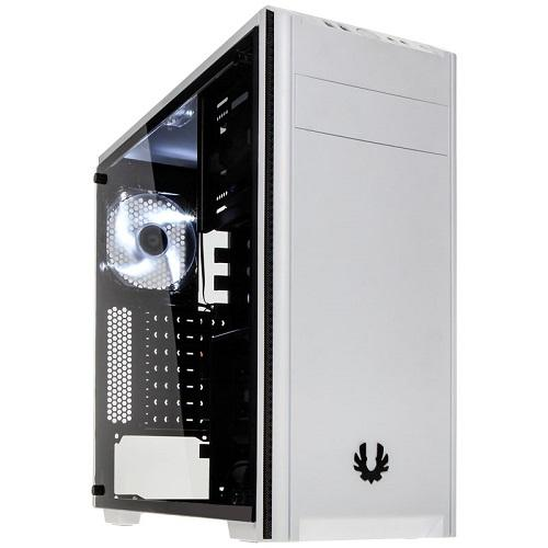 Bitfenix NOVA GLASS Midi Tower Case – White Tempered Glass