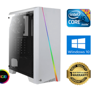 AEROCOOL Cylon RGB white gaming pc