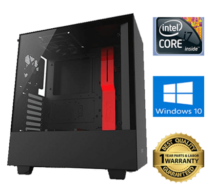 NZXT h500 gaming case