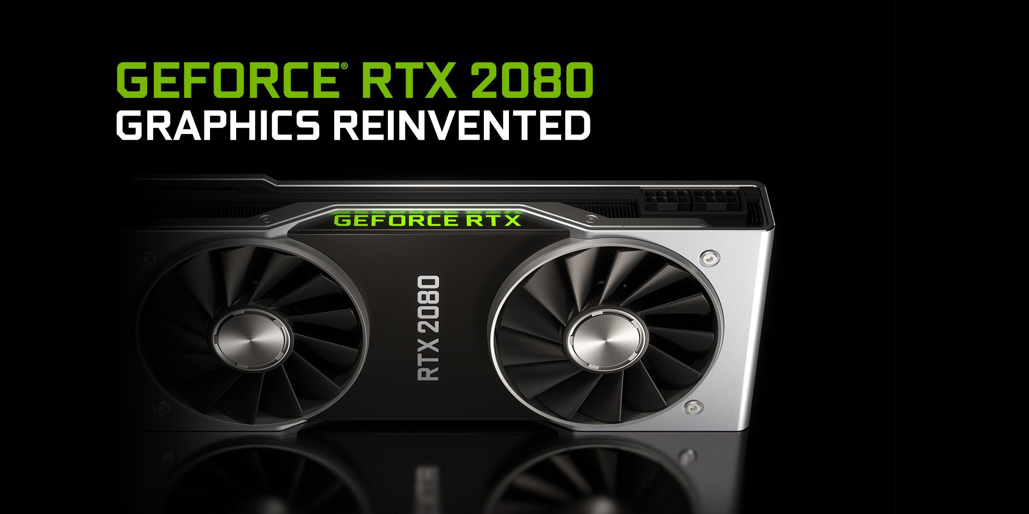 RTX 2080 graphics card