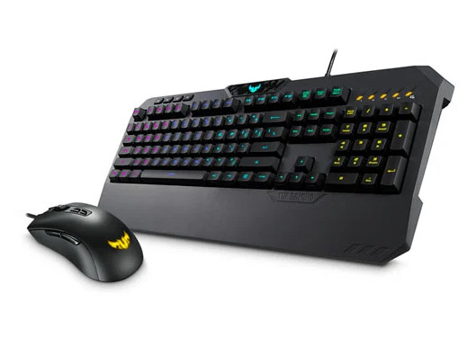 ASUS TUF GAMING K5 5-Zone RGB & Mouse Bundle + €90
