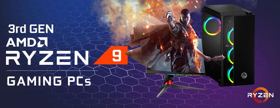 AMD Ryzen 9 gaming pc